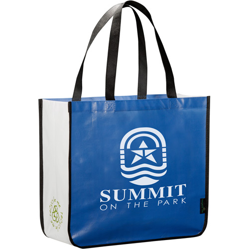 promotional customized laminated non woven shopping bag hot products handle non woven bag